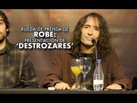 Rueda de prensa de Robe: Presentación de 'Destrozares'