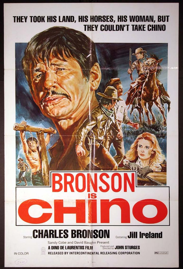 CHINO Movie Poster (1973) || WESTERN Movie Posters   @ FilmPosters.Com - Vintage Movie Posters and More