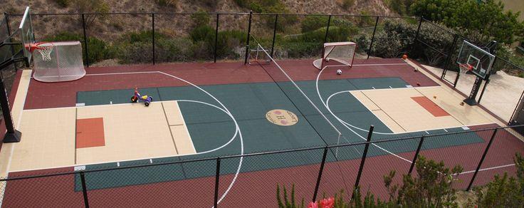 Pinterest the world s catalog of ideas for Sport court