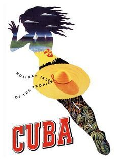 Cuba, Travel posters and Flight booking sites on Pinterest