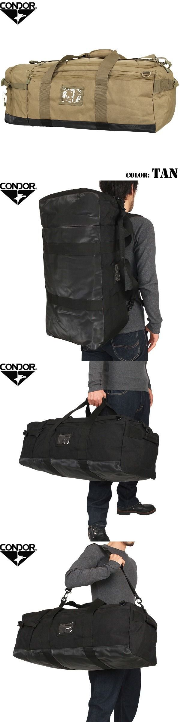 Hunting Bags and Packs 52503: Condor 161 Tan Colossus Tactical Duffle Bag Backpack Shoulder Bag -> BUY IT NOW ONLY: $59.55 on eBay!