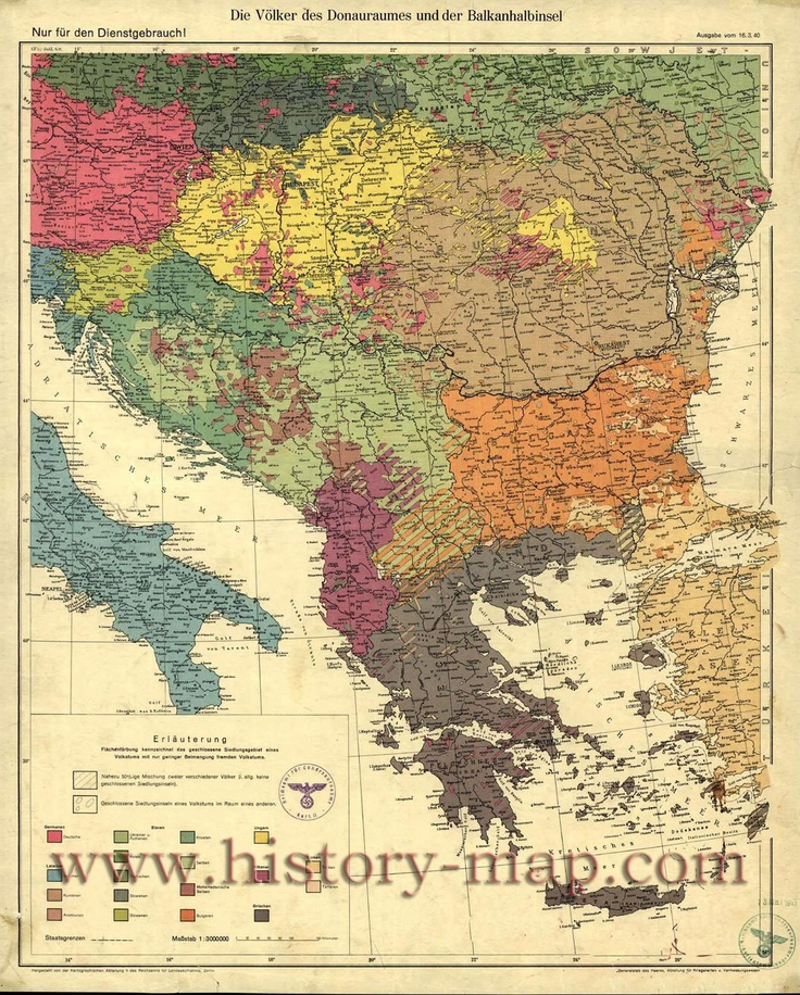Historical map of the Balkans around 582612 AD  Avari