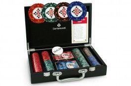 Coffret bois Diamond 200 jetons - Pokeo.fr - Coffret en bois de 200 jetons Diamond en clay composite 14g + 2 jeux de cartes plastifiés + 1 livret de règles du jeu.