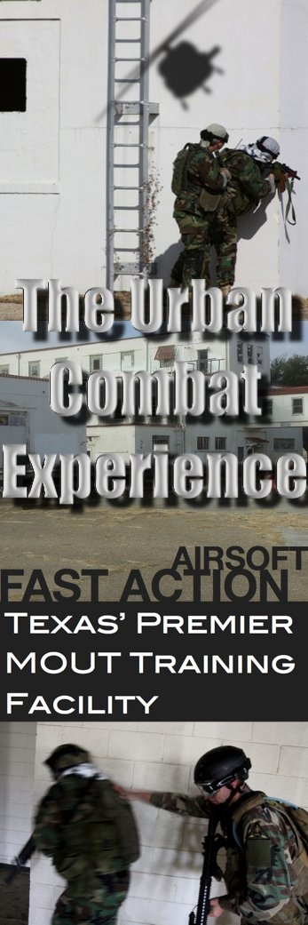 Home to the most realistic Urban Combat in the United States.  Urban Airsoft Combat in Dallas Fort Worth. Airsoft Field in Texas.