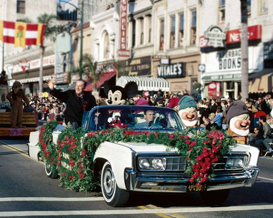 Today in Disney History: Walt Disney is Grand Marshall of Rose Parade, 1966