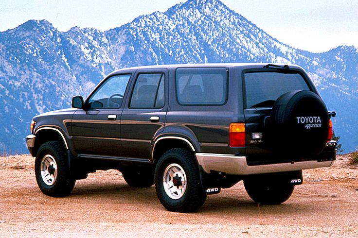 1990 Toyota 4Runner 2nd generation