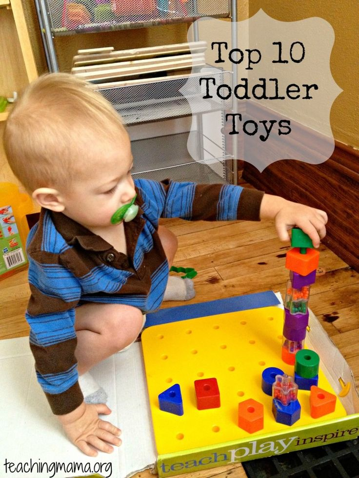 Top 10 Toddler Toys - Pinned by @PediaStaff – Please Visit ht.ly/63sNtfor all our pediatric therapy pins
