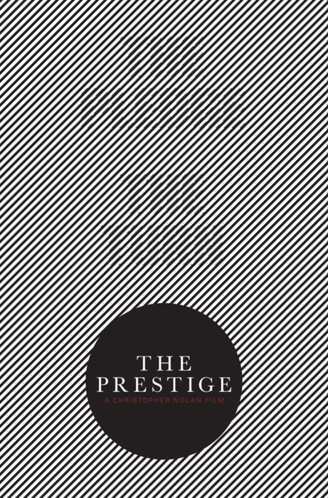 The Prestige...you might have to turn your head back & forth to read it