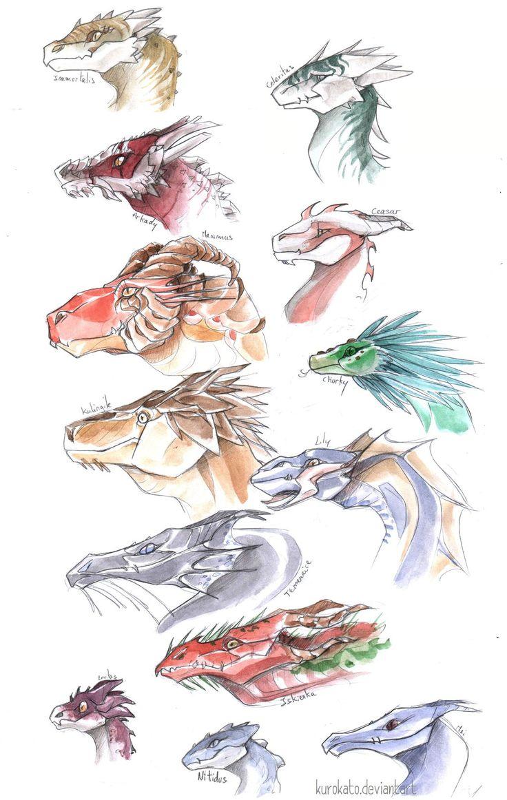 Aerial corps, Dragons (from Naomi Novik's Temeraire series) by KuroKato on deviantArt