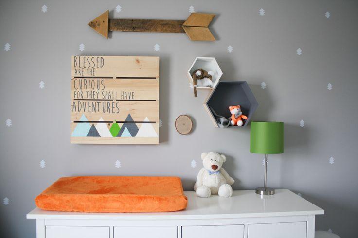 Project Nursery - Adventure Themed Gallery Wall