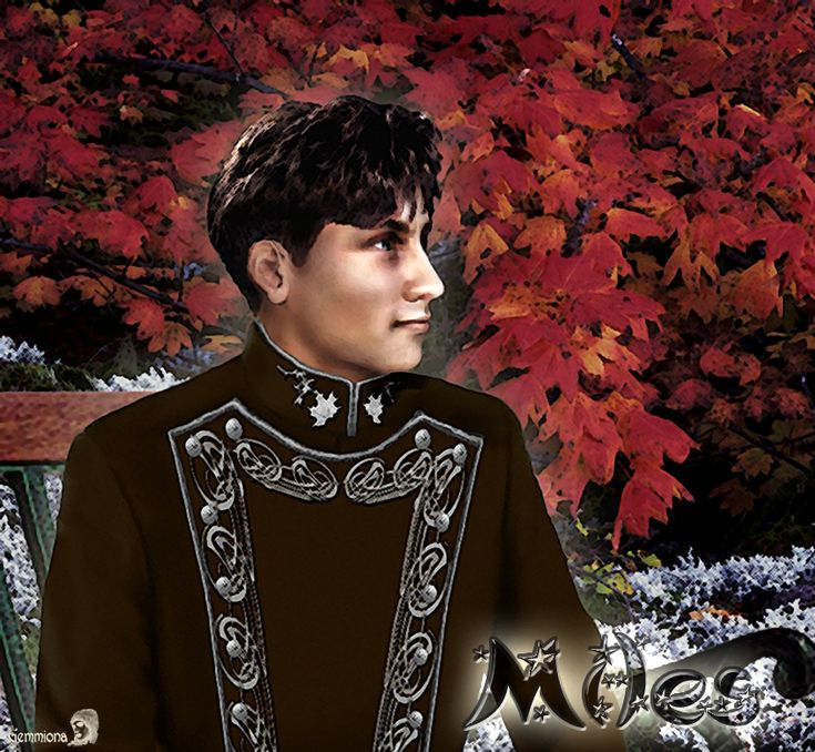 Miles Vorkosigan by gemmiona on DeviantArt. reference to a major charachter in books by Lois McMaster Bujold