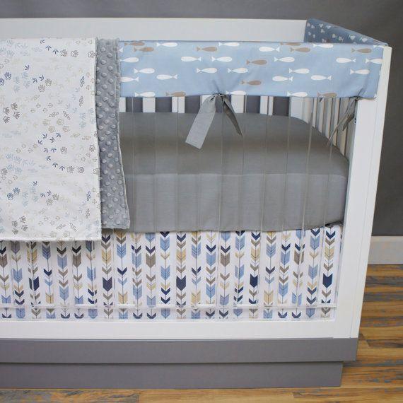 Best 25 tan nursery ideas on pinterest baby boy nursey for Fishing baby bedding
