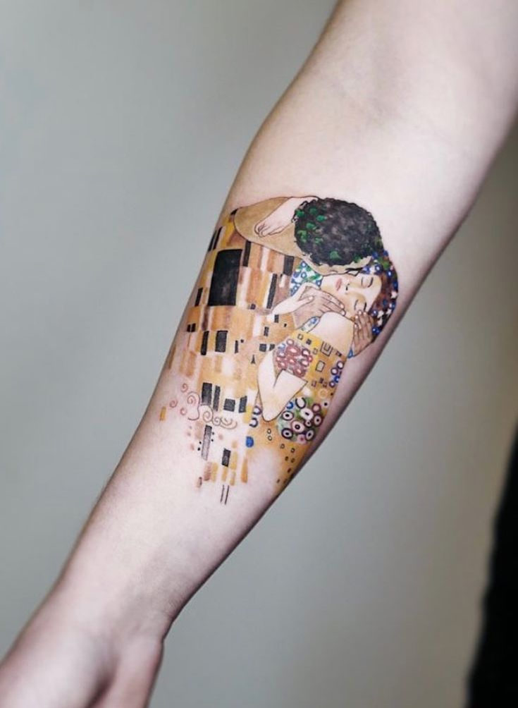 27 Tattoos Inspired By Classic Art To Wear Your Artistic Soul On Your Skin.  From Klimt to Da Vinci and Van Gogh, here's 27 tattoos for true art l…