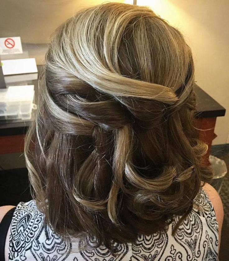 Mom Wedding Hairstyles: 380 Best Mother Of The Bride Hairstyles Images On