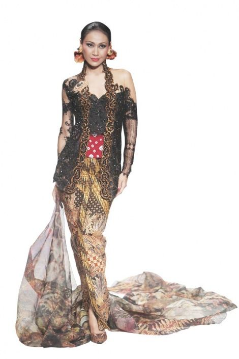 Model Kebaya Anne Avantie Top model kimmy jayanti stole