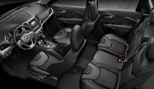 2015 Jeep Cherokee Trailhawk Interior Review