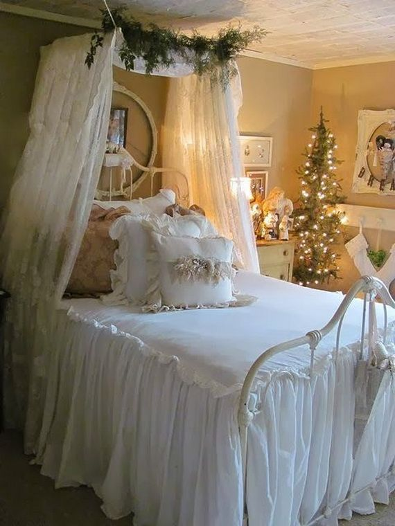 . 139 best Christmas bedroom decor images on Pinterest