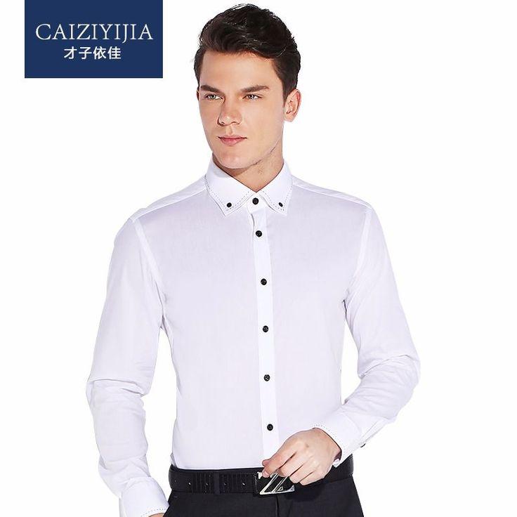 CAIZIYIJIA 2016 Mens Leisure Style Dress Shirts Long Sleeve  http://mobwizard.com/product/caiziyijia-2016/