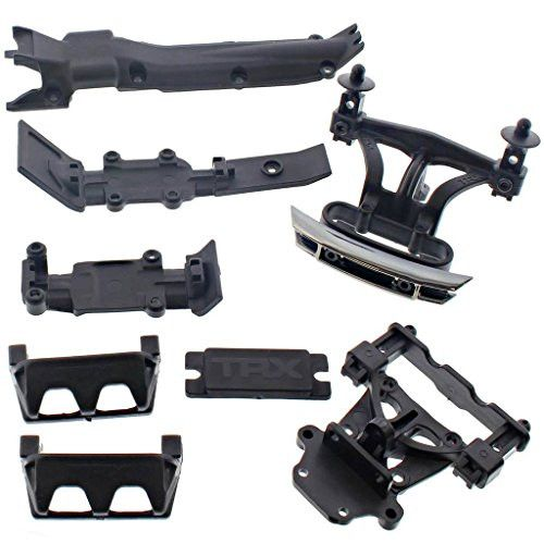 Traxxas 1/16 E-Revo FRONT & REAR BODY MOUNTS, BUMPERS, SKID PLATES & POSTS
