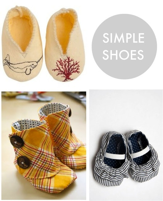 Mom -- start learning how to make these so that little Kresser will have the best shoe collection on the block! ;)