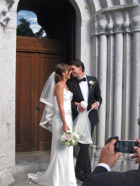 Amanda Schulman's wedding dress