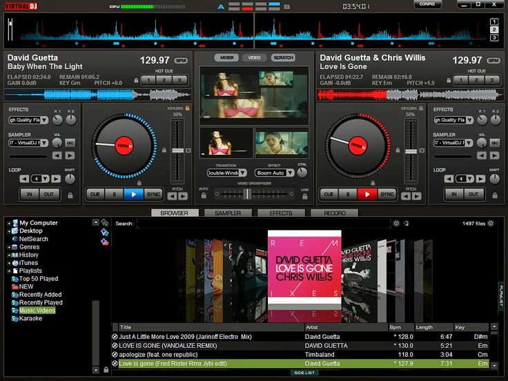 Virtual DJ | Virtual DJ Download here | Virtual DJ specifications | MP3  Audio Software | DJ Software