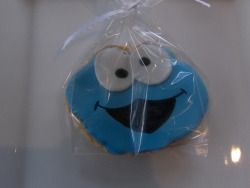 What's better than a Cookie Monster cookie?