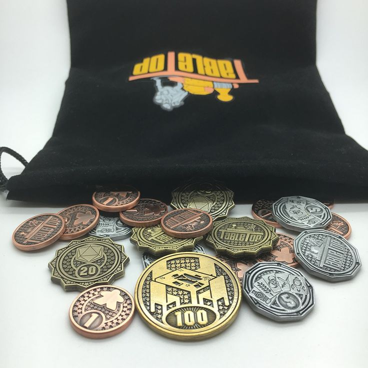 Wil Wheaton's Tabletop Developing Metal Coins for Board Games | Dice Tower News