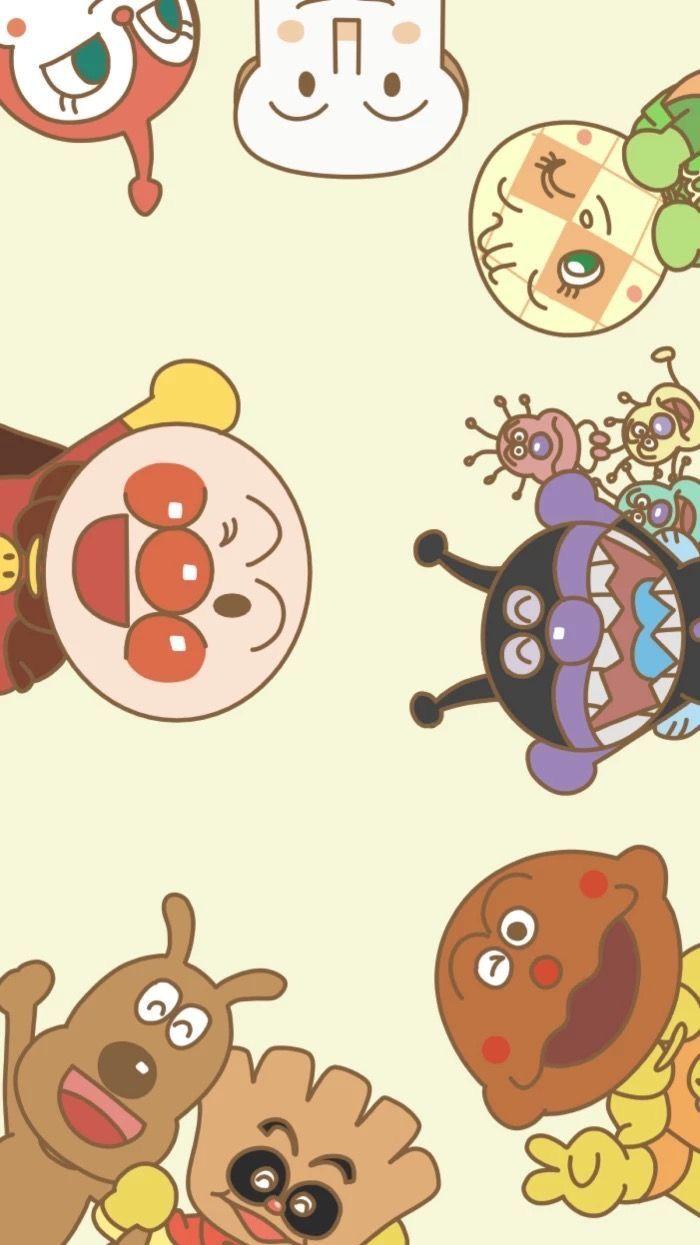 Anpanman おしゃれまとめの人気アイデア Pinterest Mhreee かわいい 壁紙 Iphone カラフルな絵 アンパンマン かわいい