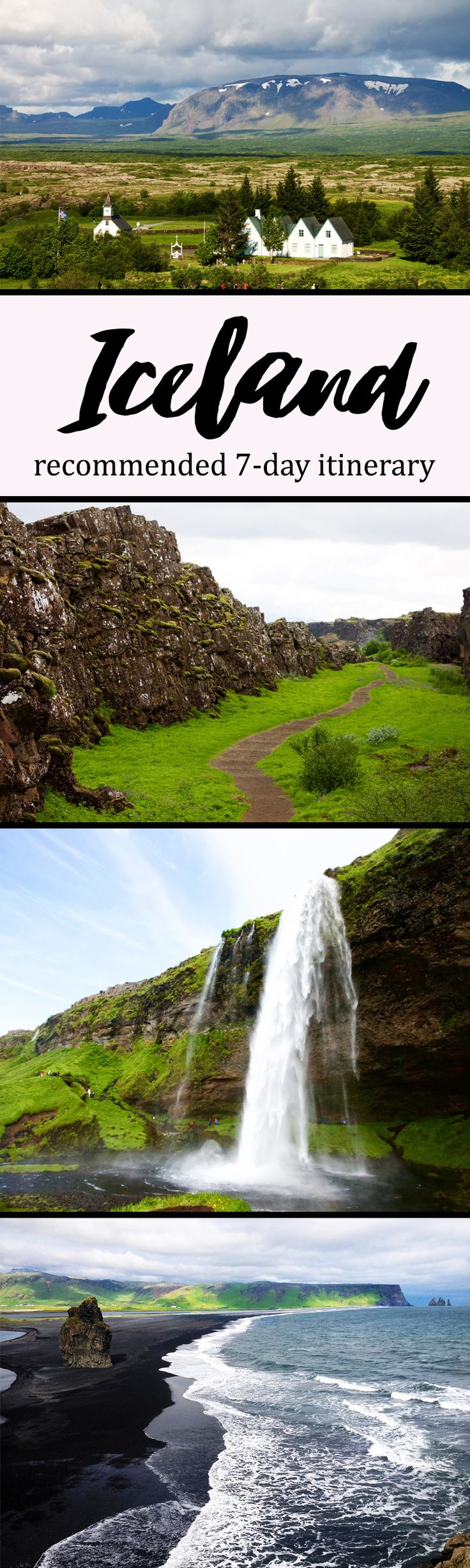 If you too only are one of the millions of North Americans who can only afford a few days in Iceland and want to cram in as many sights as possible, you'll want to read the itinerary below, which took me from Reykjavik to the Jokusarlon glacier lagoon and back.  Seven days, hundreds of stops, countless photos. Welcome to Iceland!