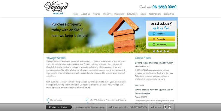 Voyage Health Website Design by Star 3 Media