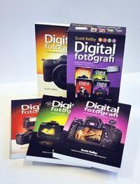 Digitalfotografi : lär dig yrkesfotografernas hemligheter - steg för steg (Paketutgåva 4 delar) (häftad)