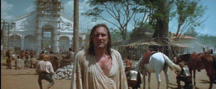 película 1492 - monumentos religioso - los europeos - símbolo de poder, religión, posesión