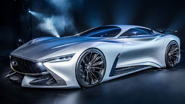 Infiniti's Vision GT concept is real - BBC Top Gear