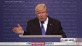 Watch Alec Baldwin as Donald Trump on SNL's Presidential Debate | TIME