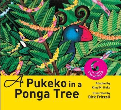 A Pukeko in a Ponga Tree