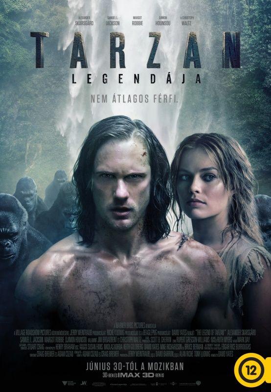 Tarzan legendája - A Tarzan izgalmas és intenzív filmes kaland, melyet különleges látványa tesz még érdekesebbé. Rendező: David Yates