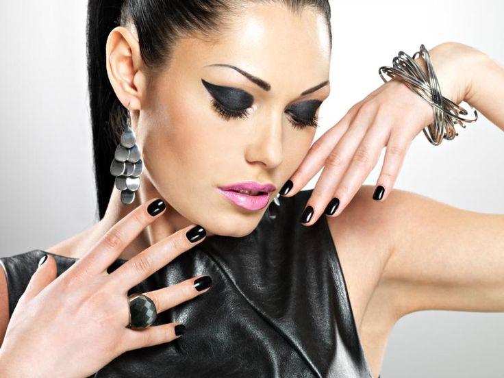 Ćwiek z pazurem. Najmodniejszy trend na sezon jesień/zima 2014 #makeup #party #black
