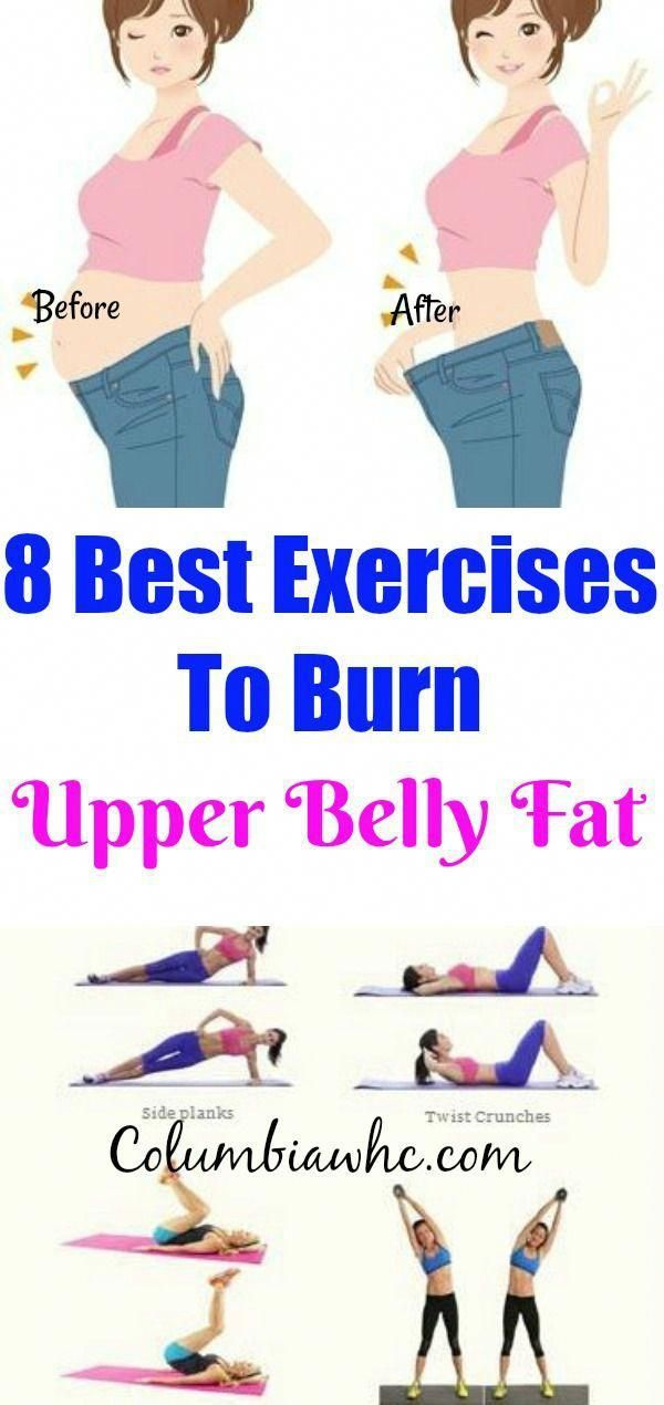 Lose Upper Belly Fat Exercise