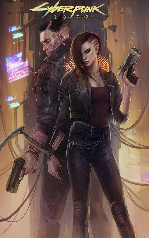 Cyberpunk 2077 (fan artwork) on Behance