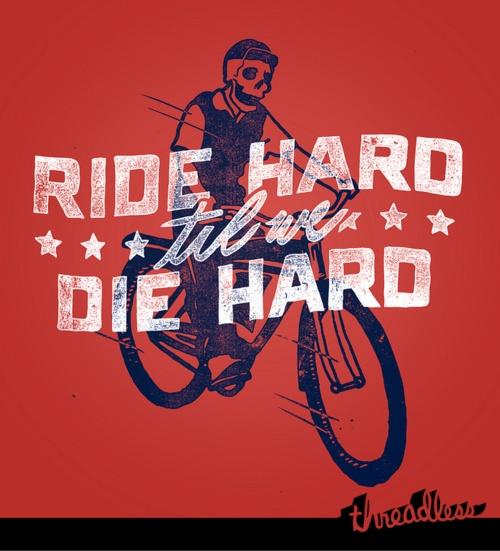 We Ride Rough! by Zack DavenportInspiration, Riding Rough, Hard, Illustration, Design Logo, Hard Die, Riding Hard, Bikes Fun, Bikes Art