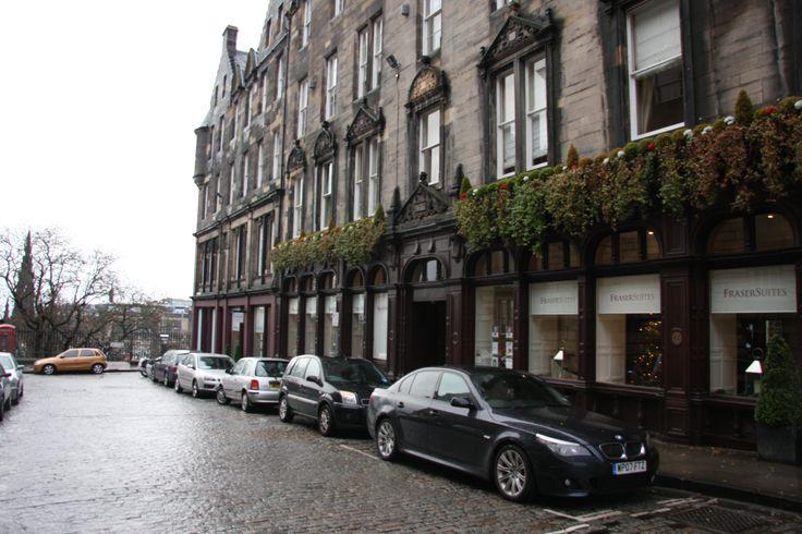 Edinburgh, Scotland. Hotel Frasers