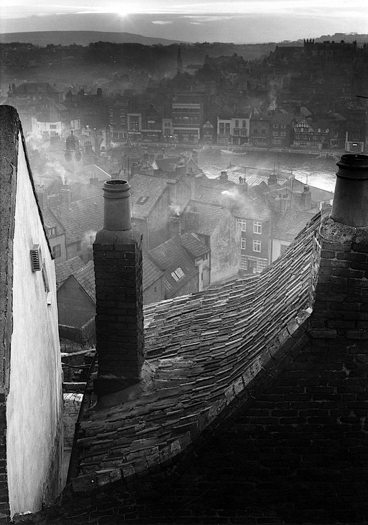 Edwin Smith. Roofscape, Whitby, North Yorkshire, 1959