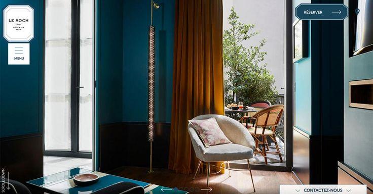 Le Roch Hôtel & Spa, un boutique hôtel paris 1er, à la décoration signée Sarah Lavoine, au cœur de la rue Saint Roch, proche rue du faubourg Saint-Honoré.