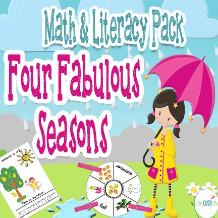 A Time For Seasons: Guest and Giveaway: Four Seasons Mini-Learning Pack Free Printable