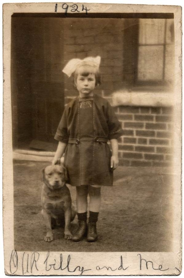 People From a Long Time Ago, with Dogs - Retronaut