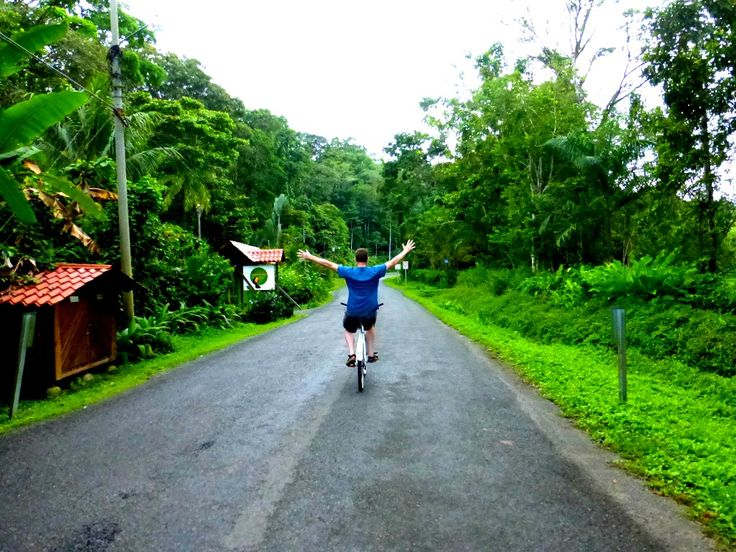 Bike to Puerto Viejo from Manzanillo Costa Rica - Venturists