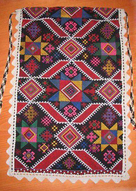 Престилка от Синдел, Варненско / An apron from Sindel, Varna district