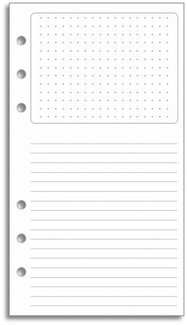 FREE Printable: The Filofax Storyboard page revisited