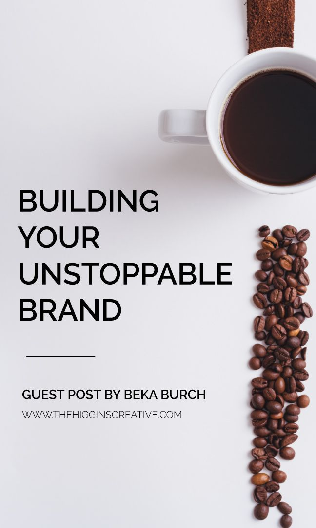 Building Your Unstoppable Brand @higginscreative | As easy as it is to compare yourselves to others in your field especially with social media, you must not do it. You must know that your business is enough and focus on how you want to form your business